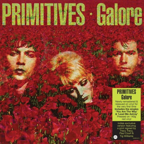 The Primitives – Galore (Signed Print Exclusive)