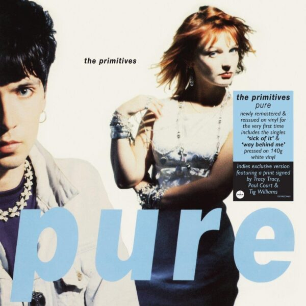 The Primitives – Pure (Signed Print Exclusive)