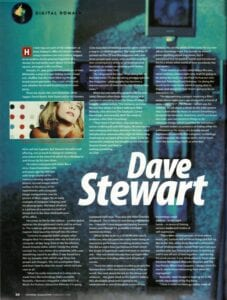 Dave Stewart CD Rom Mag Page 2