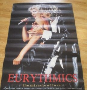 37 MIRACLE OF LOVE ALT COVER SUBWAY POSTER 87