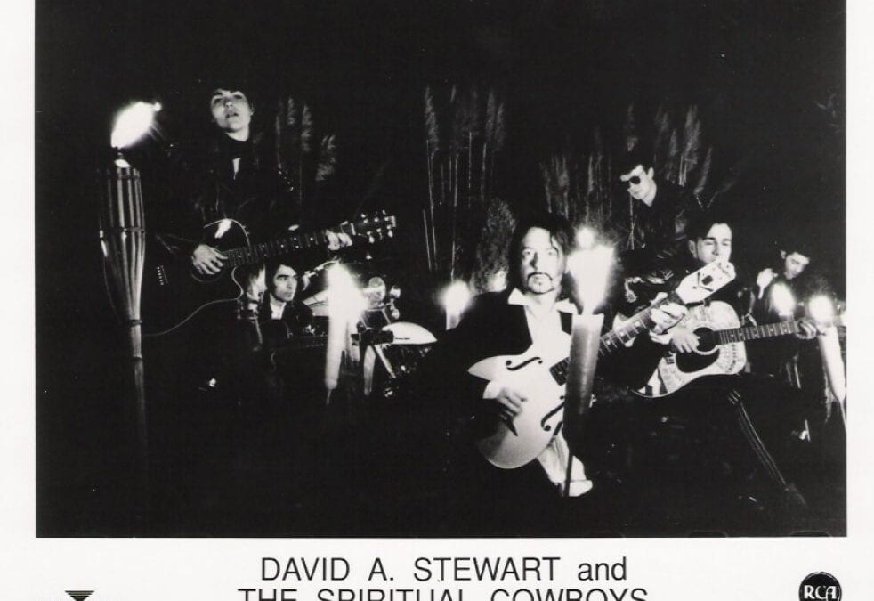 Photo Of The Week : Dave Stewart And The Spiritual Cowboys (From the photo archives of Norma Koning)