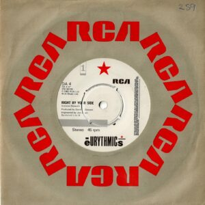 """4215 - Eurythmics - Right By Your Side - The UK - 7"""" Single - DA4"""