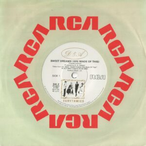 """4264 - Eurythmics - Sweet Dreams (Are Made Of This) - The UK - 7"""" Single - DA2"""
