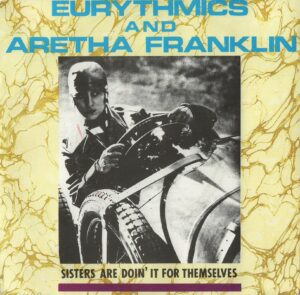 """4296 - Eurythmics - Sisters Are Doin' It For Themselves - New Zealand - 7"""" Single - 104472"""