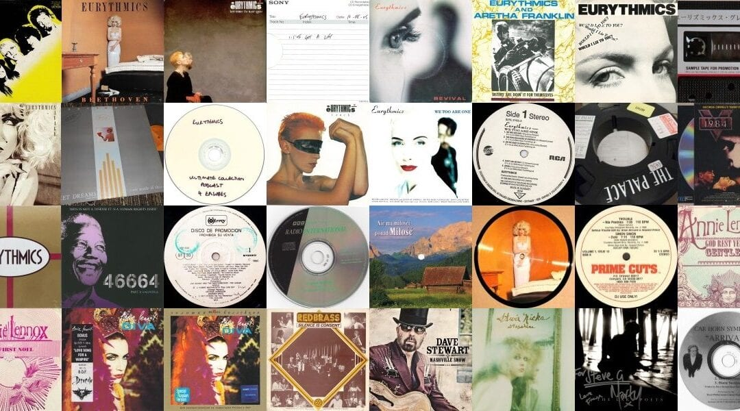 Huge discography update on the Ultimate Eurythmics Discography