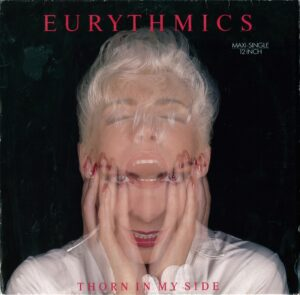 """0864 - Eurythmics - Thorn In My Side - Germany - 12"""" Single - PT-40900"""