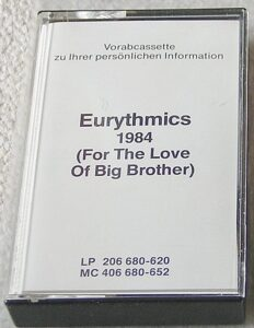 4656 - Eurythmics - 1984 (For The Love Of Big Brother) - Germany - Promo Cassette - 406680