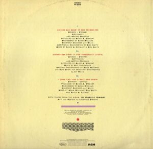 """4818 - Eurythmics - Sisters Are Doin' It For Themselves - Italy - 12"""" Single - PT-40340"""
