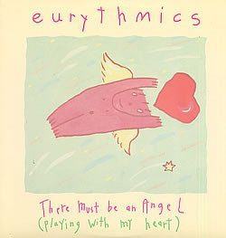 """1538 - Eurythmics - There Must Be An Angel (Playing With My Heart) - Italy - Promo 12"""" Single - PT-40248"""