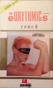 4704 - Eurythmics - Touch - Indonesia - Cassette - AM 772