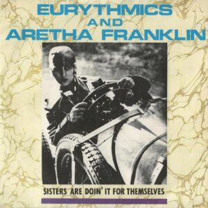 """0122 - Eurythmics - Sisters Are Doin' It For Themselves - The UK - 7"""" Single - PB-40339"""