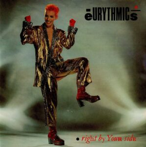 """0375 - Eurythmics - Right By Your Side - The UK - 7"""" Single - DA4"""