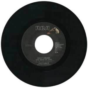 """0756 - Eurythmics - Sweet Dreams (Are Made Of This) - The USA - 7"""" Single - GB-13790"""