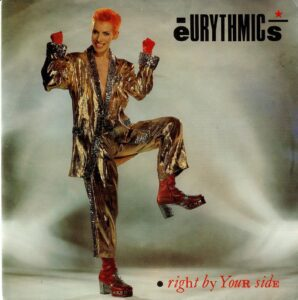 """0785 - Eurythmics - Right By Your Side - The Netherlands - 7"""" Single - PB-68126"""