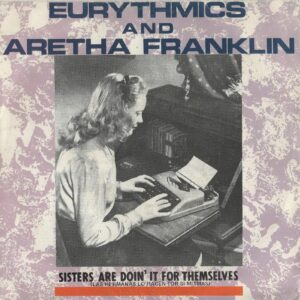 """1639 - Eurythmics - Sisters Are Doin' It For Themselves - Spain - 7"""" Single - PB-40339"""