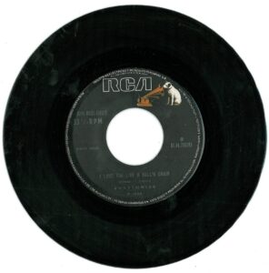 """1836 - Eurythmics - Sisters Are Doin' It For Themselves - Peru - 7"""" Single - 0144710195"""