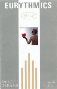 0982 - Eurythmics - Sweet Dreams (Are Made Of This) - The UK - Cassette - PK-25447
