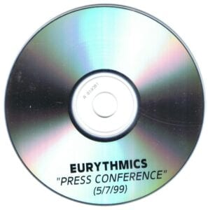 3165 - Eurythmics - Peace - Interview - The UK - Promo CD - CDR