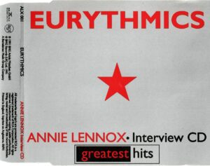 3244 - Eurythmics - Greatest Hits Promo Interview - The UK - Promo CD - ALX001