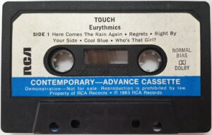 5004 - Eurythmics - Touch - The UK - Promo Cassette - None