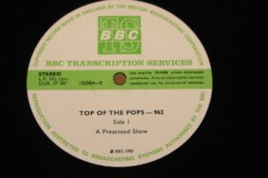 5009 - Eurythmics - Top Of The Pops - Show 962 - The UK - LP - 152004