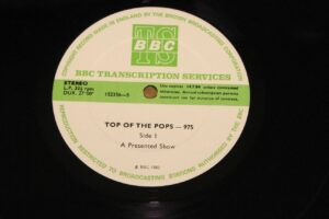 5010 - Eurythmics - Top Of The Pops - Show 975 - The UK - LP - 152004