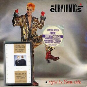 """5027 - Eurythmics - Right By Your Side - The UK - 7"""" Single - DA4"""