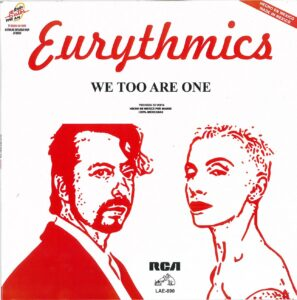 5040 - Eurythmics - We Too Are One - Mexico - Promo LP - LAE 890