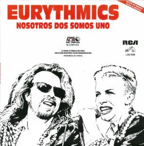 5042 - Eurythmics - We Too Are One - Mexico - Promo LP - LAE 890