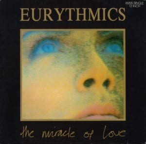 """0186 - Eurythmics - The Miracle Of Love - Germany - 12"""" Single - PT-41022"""
