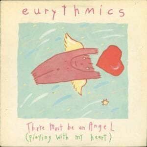 """0203 - Eurythmics - There Must Be An Angel (Playing With My Heart) - Canada - 12"""" Single - PD-14161"""
