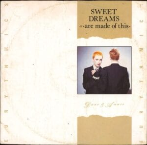 """0207 - Eurythmics - Sweet Dreams (Are Made Of This) - The UK - 12"""" Single - DAT2"""