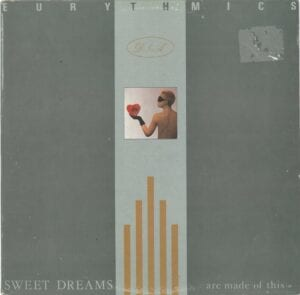 0215 - Eurythmics - Sweet Dreams (Are Made Of This) - Greece - LP - RCLP 20261