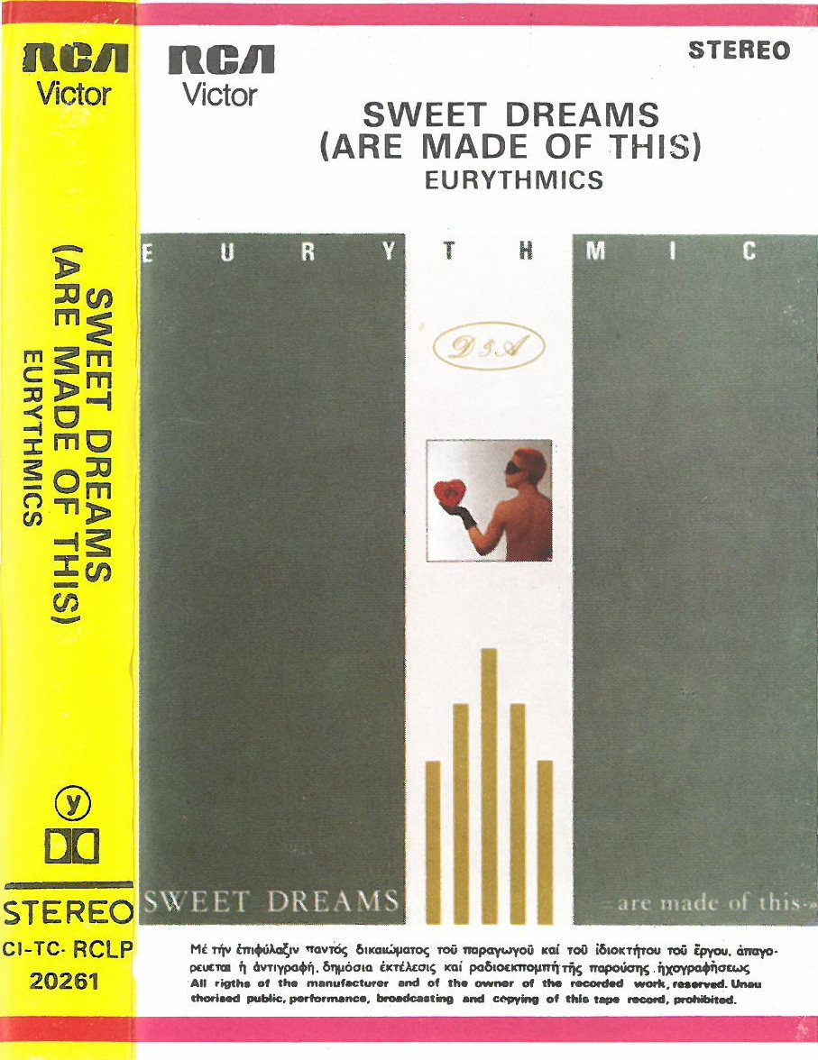 0216 - Eurythmics - Sweet Dreams (Are Made Of This) - Greece - Cassette - CI-TC-RCLP 20261
