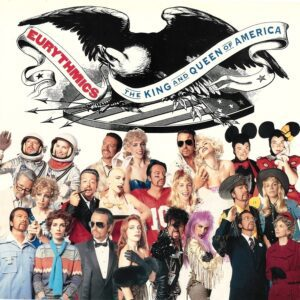 """0306 - Eurythmics - The King And Queen Of America - The UK - 12"""" Single - DAT24"""