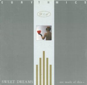 0345 - Eurythmics - Sweet Dreams (Are Made Of This) - The UK - LP - PL-70014