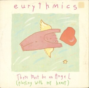 """0587 - Eurythmics - There Must Be An Angel (Playing With My Heart) - Australia - 12"""" Single - TDS282"""