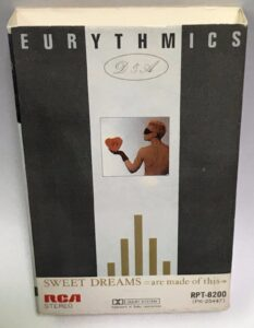 0653 - Eurythmics - Sweet Dreams (Are Made Of This) - Japan - Cassette - RPT-8200