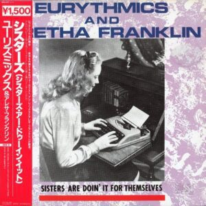 """0682 - Eurythmics - Sisters Are Doin' It For Themselves - Japan - 12"""" Single - RPS-1017"""