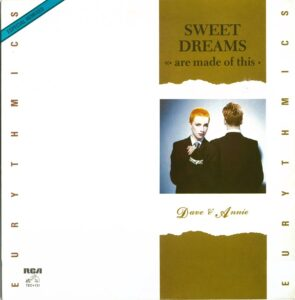 """0684 - Eurythmics - Sweet Dreams (Are Made Of This) - Mexico - 12"""" Single - TEC-131"""