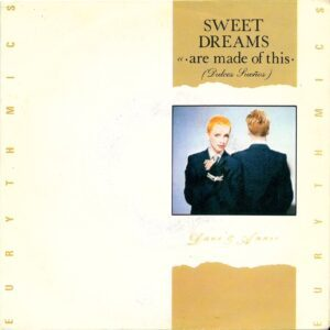 """0749 - Eurythmics - Sweet Dreams (Are Made Of This) - Spain - 7"""" Single - PB-68031"""