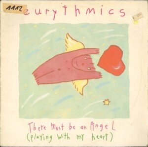 """0833 - Eurythmics - There Must Be An Angel (Playing With My Heart) - Germany - 12"""" Single - PT-40248"""