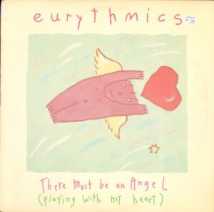 """0835 - Eurythmics - There Must Be An Angel (Playing With My Heart) - The USA - 12"""" Single - PD-14161"""