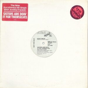 """0843 - Eurythmics - Sisters Are Doin' It For Themselves - The USA - Promo 12"""" Single - JR-14206"""