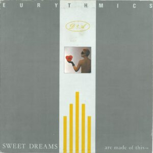 0969 - Eurythmics - Sweet Dreams (Are Made Of This) - The USA - LP - AFL1-4681