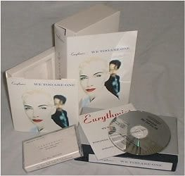 1027 - Eurythmics - We Too Are One - The UK - Promo CD - None