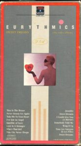 1256 - Eurythmics - Sweet Dreams (Are Made Of This) - The USA - Video - RCA 60275