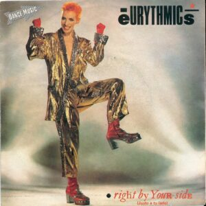 """1335 - Eurythmics - Right By Your Side - Spain - 7"""" Single - PB-68126"""