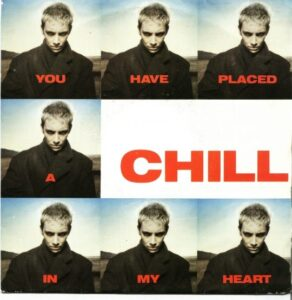 """1443 - Eurythmics - You Have Placed A Chill In My Heart - Spain - Promo 7"""" Single - PB-42853"""