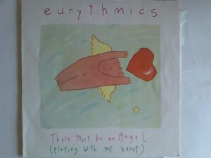 """1595 - Eurythmics - There Must Be An Angel (Playing With My Heart) - Portugal - 12"""" Single - PT-40248"""